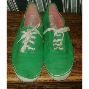 Womens Green Keds